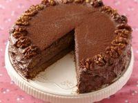 Nusstorte mit Schokolade Rezept