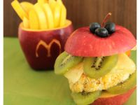 Fast Food mal smart: Der Obst-Burger