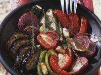 Ofengemüse auf französische Art Rezept