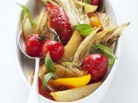 Ofengemüse-Salat Rezept