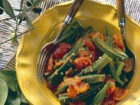 Okra-Tomatengemüse Rezept