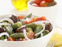 Okraschoten-Tomatensalat Rezept
