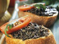 Oliven-Bruschette Rezept