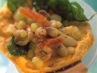 Omelett mit Spargel-Garnelen-Füllung Rezept
