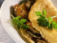 Omelett mit Steinpilzen Rezept