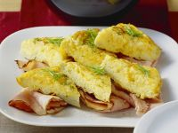 Omelette mit Schinken und Tomaten Rezept