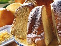 Orangen-Gugelhupf Rezept