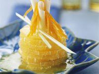 Orangen-Karotten-Salat mit Ingwer Rezept