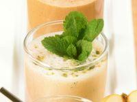Orangen-Minz-Shake Rezept