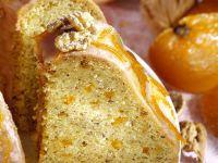 Orangen-Nusskuchen