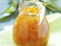 Orangen-Pfirsich-Konfitüre Rezept