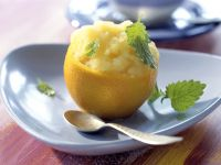 Orangen-Reis-Sorbet Rezept