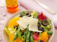 Orangen-Spargelsalat Rezept