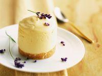 Orangencreme mit Lavendel Rezept