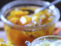 Orangenmarmelade mit Kürbis Rezept