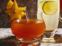 Orangenpunsch mit Karambole Rezept