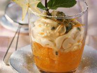 Orangensalat mit Multivitamin-Creme Rezept