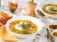 Orientalische Möhren-Suppe mit Aprikosen Rezept