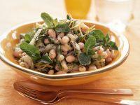 Orientalischer Bohnensalat mit Minze Rezept