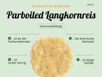 Parboiled Langkornreis