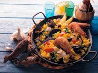 Paella Mediterrane Rezept