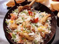 Paella mit Geflügel Rezept