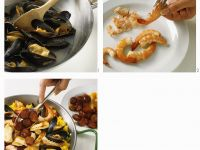Paella zubereiten Rezept