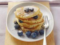 Pancakes mit Heidelbeeren Rezept
