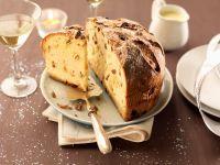 Panettone mit Trockenfrüchten Rezept