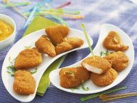 Panierte Hähnchen-Nuggets Rezept