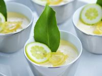 Panna cotta mit Limette Rezept