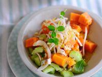 Papaya-Gurken-Salat Rezept