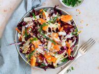 Papaya-Salat mit Gorgonzola-Dressing Rezept