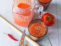 Papayasmoothie mit Tomate
