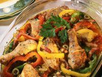 Paprika-Hähnchen Rezept