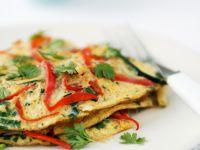 Paprika-Omelette Rezept