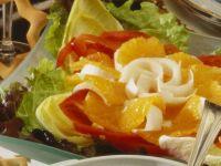 Paprika-Orangen-Salat Rezept