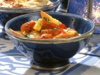 Paprika-Pfirsich-Salat Rezept
