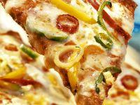Paprika-Pizza