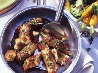 Paprika-Schinken-Kalbsröllchen Rezept