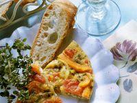 Paprika-Tomatenomelett Rezept