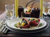 Paprikaschote mit Gemüsefüllung Rezept
