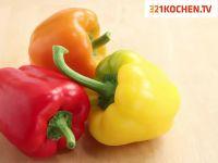 Paprika einfach häuten