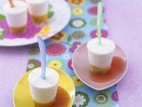 Passionsfrucht-Zitroneneis mit Grapefruitsauce Rezept