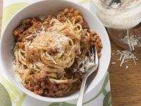 Pasta mit Bolognese-Soße Rezept