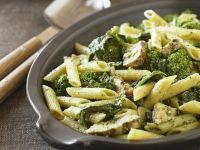 Pasta mit Broccoli-Pilz-Sauce Rezept