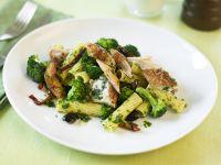 Pasta mit Hähnchen und Brokkoli Rezept