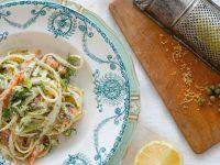 Pasta mit Lachs und Spargel Rezept
