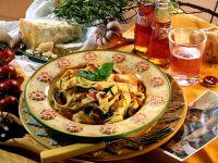 Pasta mit mediterranem Gemüse Rezept
