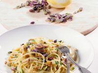 Pasta mit Pitazien und Sardellen Rezept